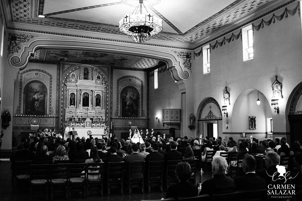 Dramatic Santa Clara Mission wedding - Carmen Salazar