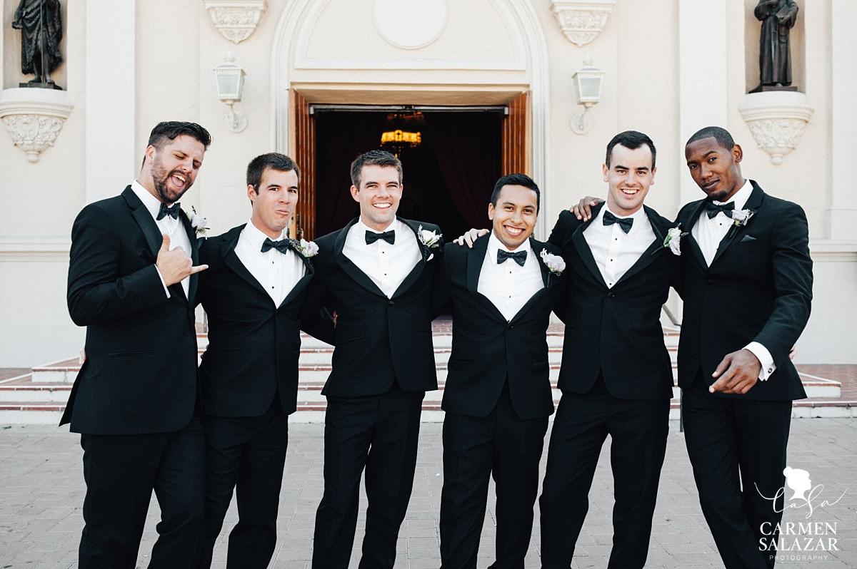 Classic groomsmen style in Santa Clara - Carmen Salazar