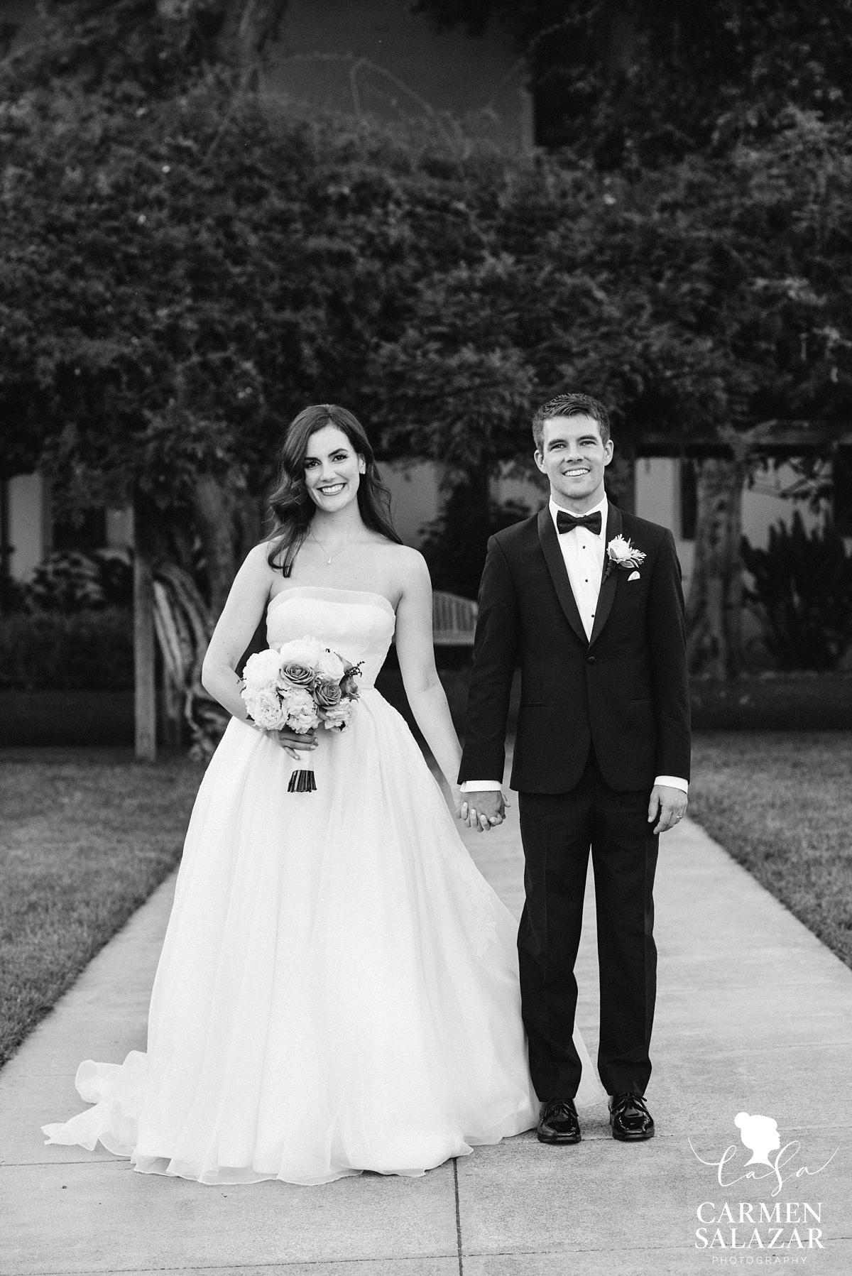 Vintage style Santa Clara wedding photography - Carmen Salazar