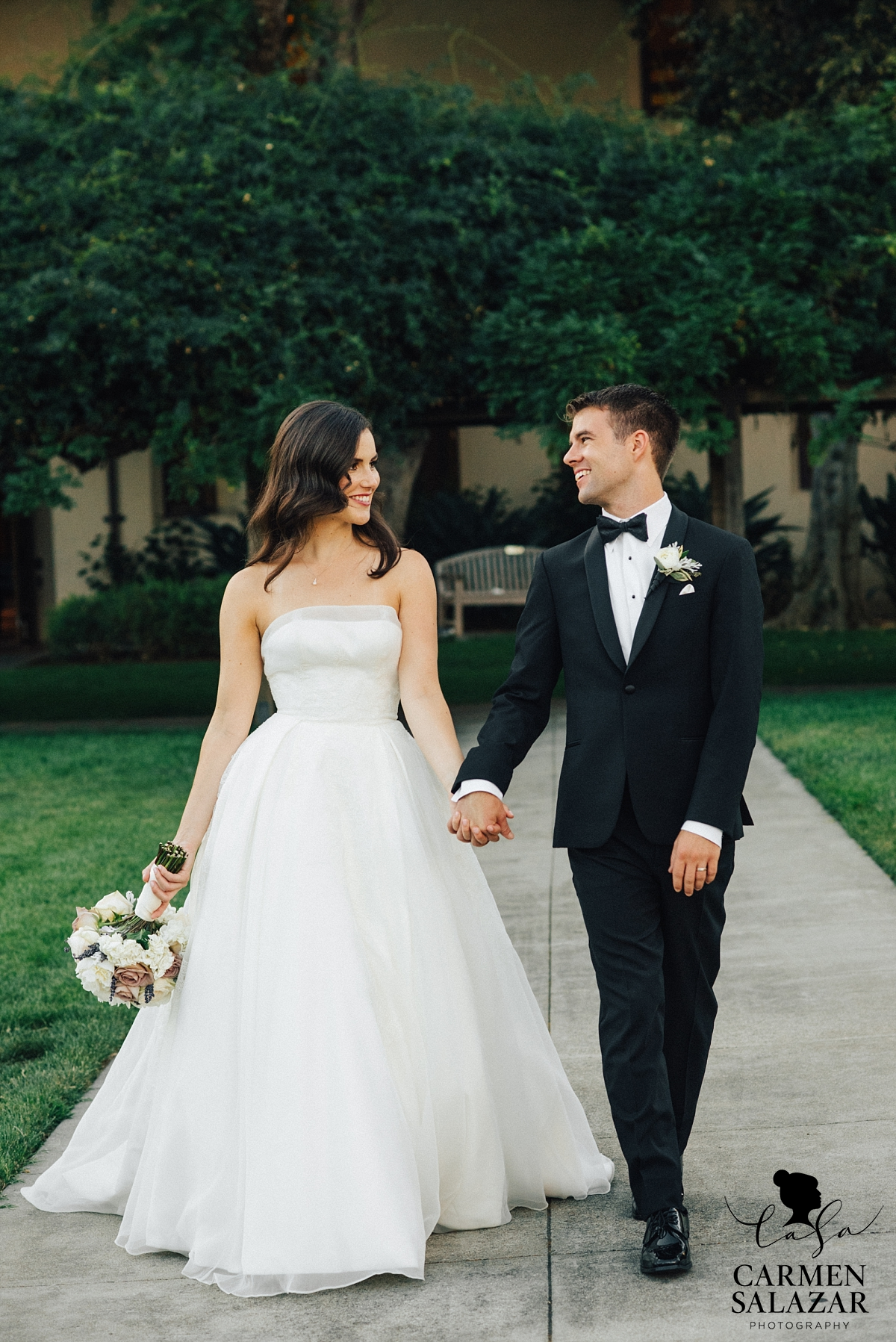 Santa Clara University alumnae wedding - Carmen Salazar