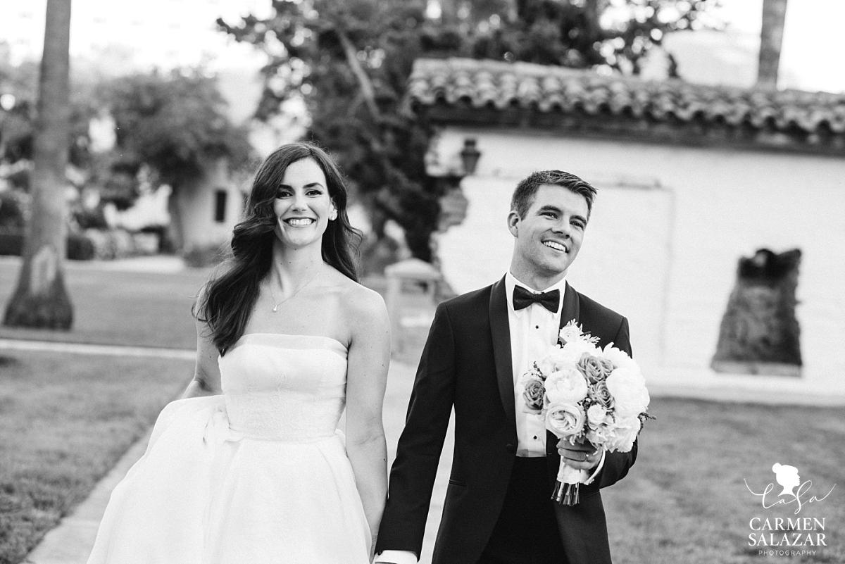 Summer wedding at Santa Clara University Mission - Carmen Salazar