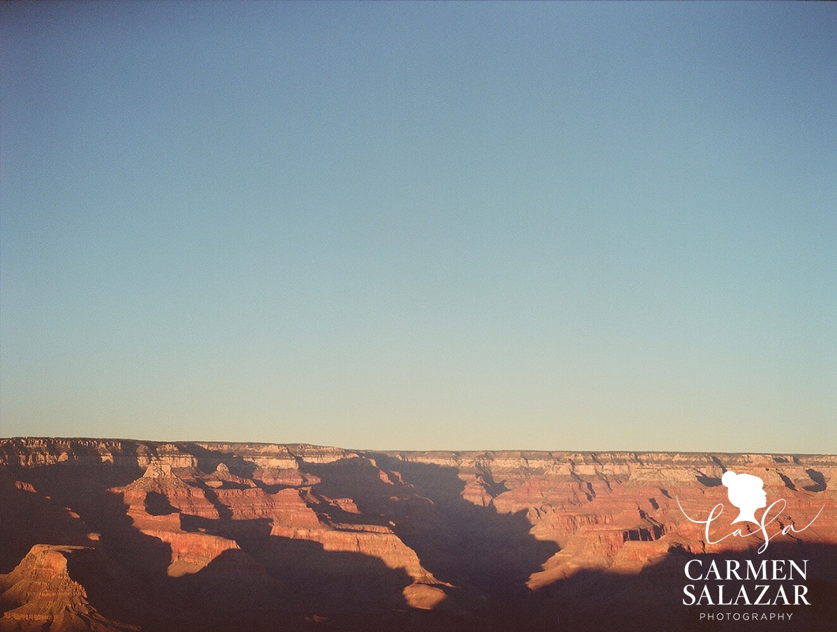 Carmen Salazar Grand Canyon photos by medium format