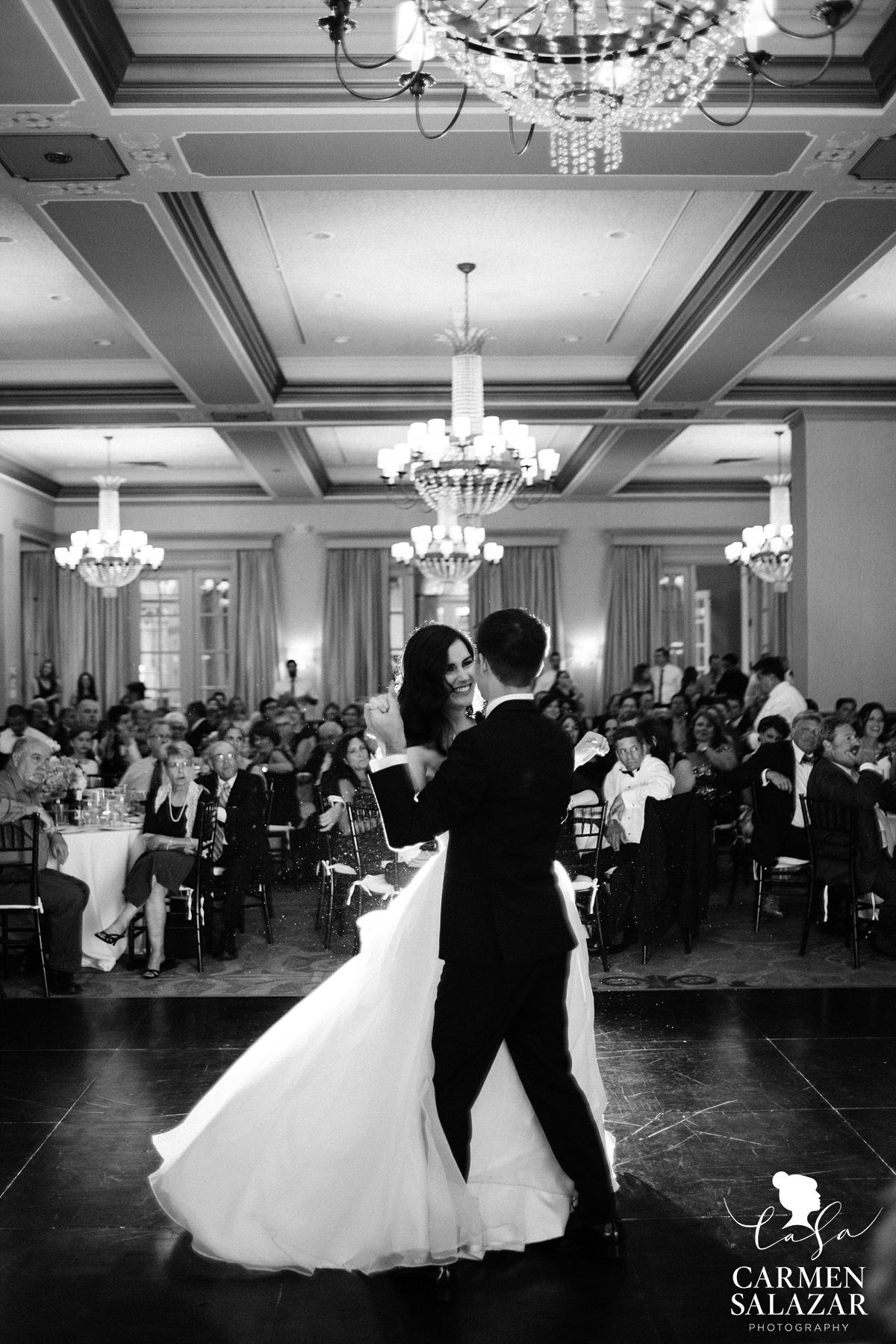 Classic ballroom wedding first dance - Carmen Salazar