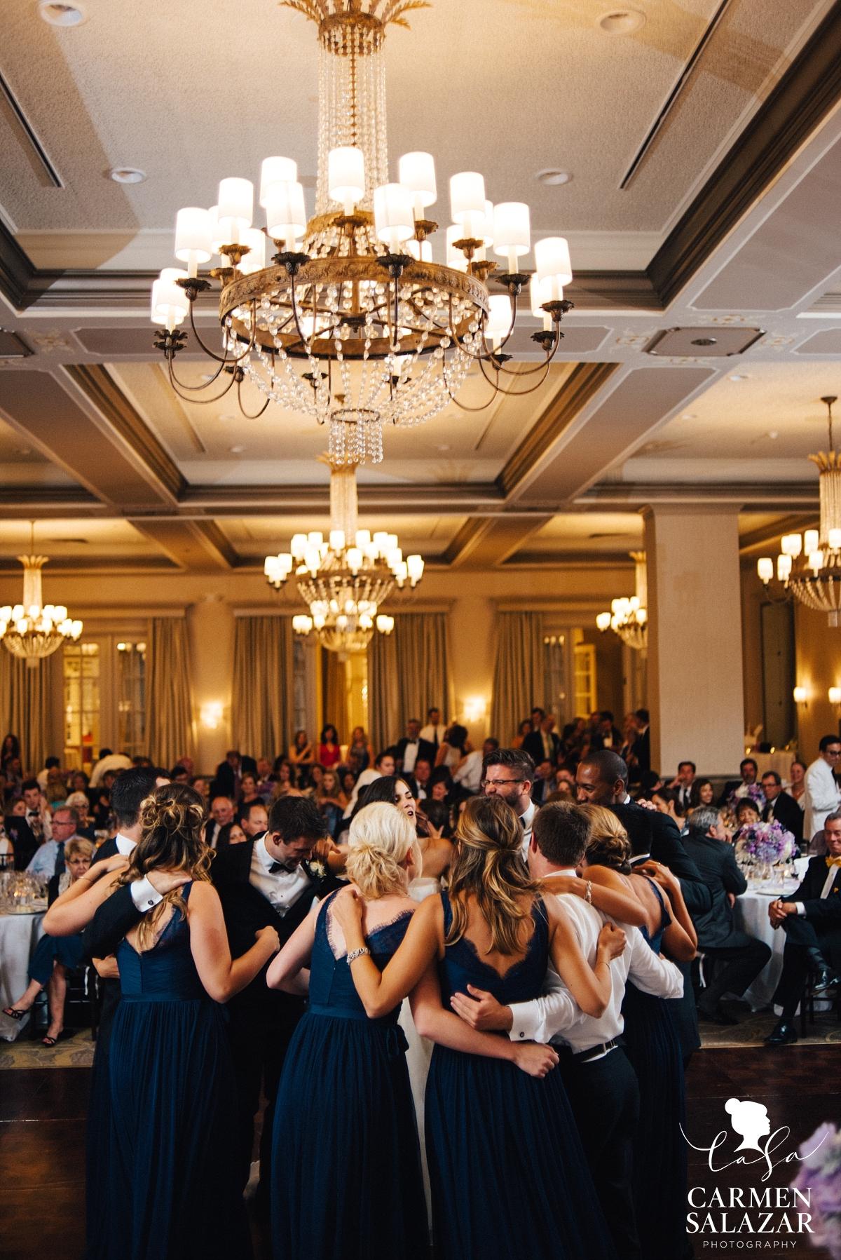 Bridal party joins first dance - Carmen Salazar