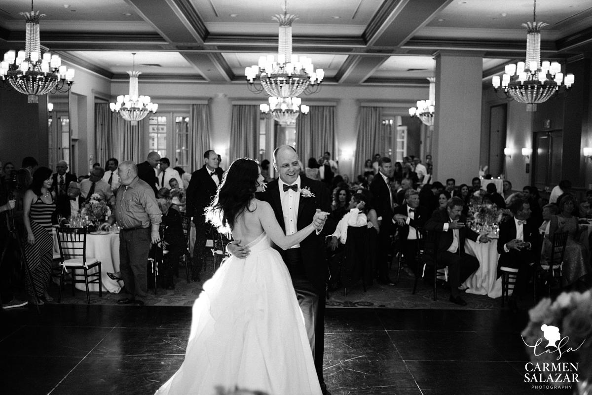 Classic bride and father dance at Westin - Carmen Salazar