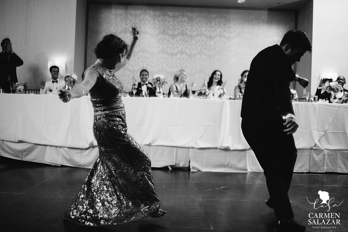 Fun and creative mother son dance - Carmen Salazar