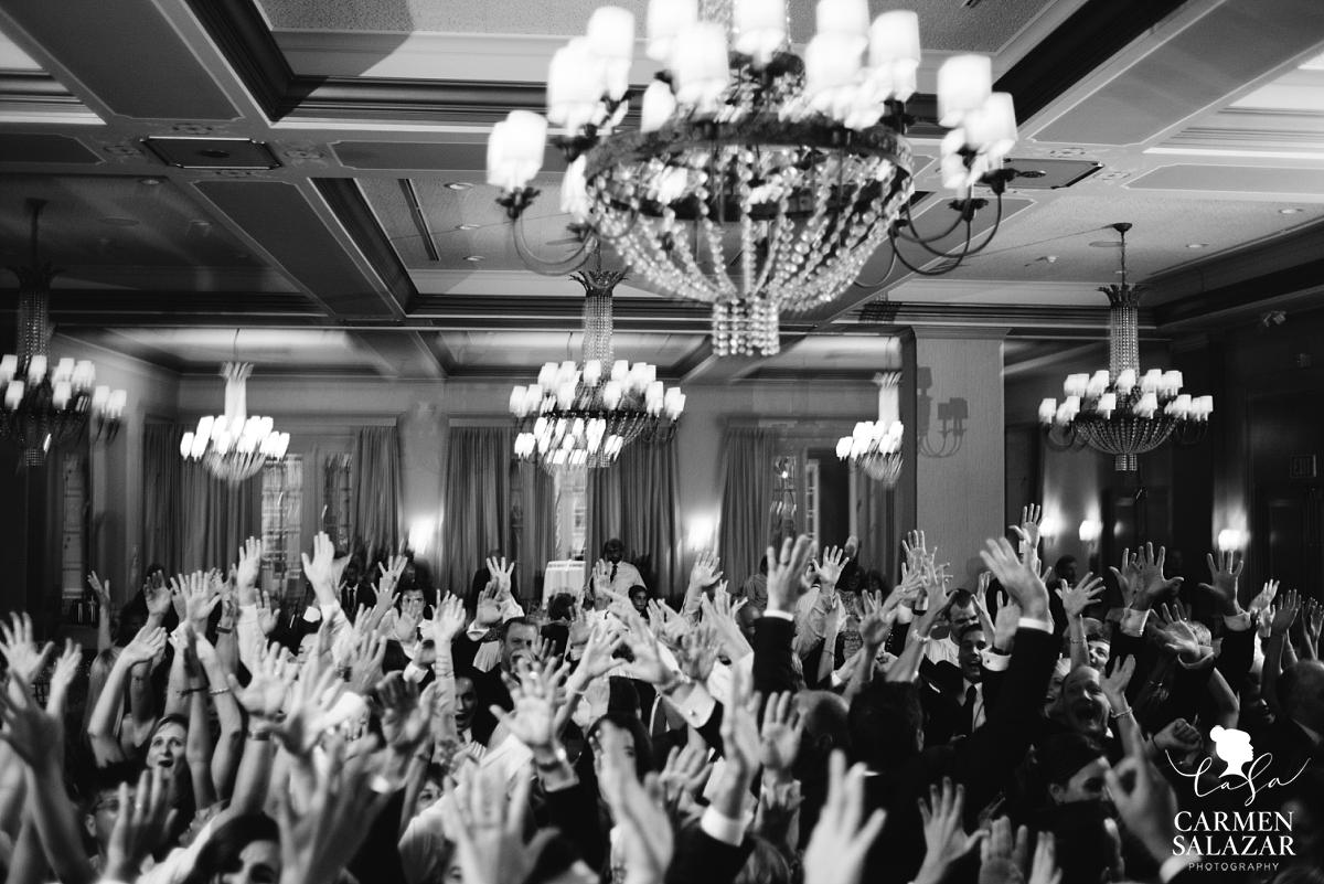 Huge wedding dance floor party - Carmen Salazar