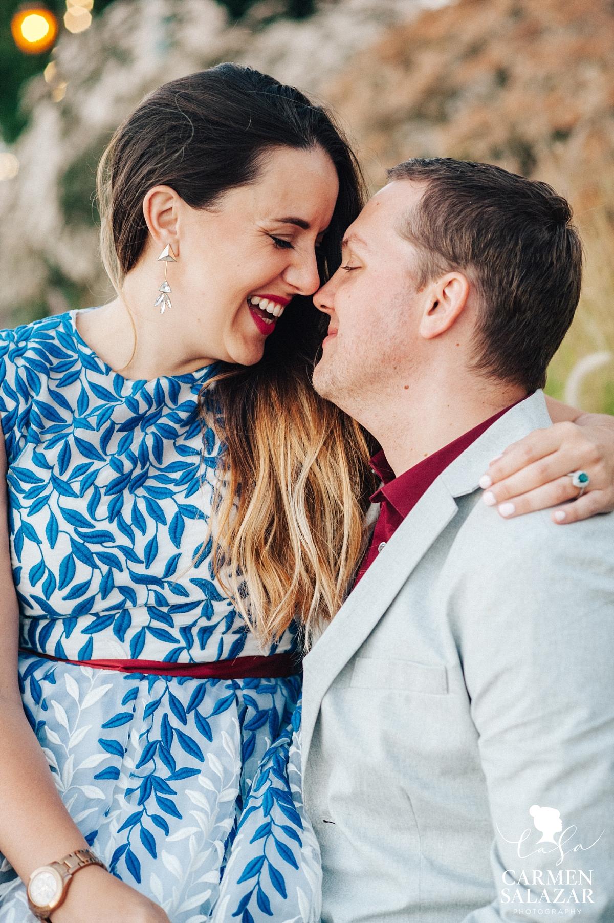 Sunset Bay Area Engagement Portraits - Carmen Salazar