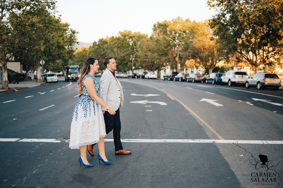 Urban Oakland wedding photography - Carmen Salazar