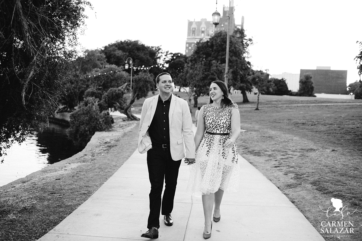 Creative Bay Area engagement photos - Carmen Salazar