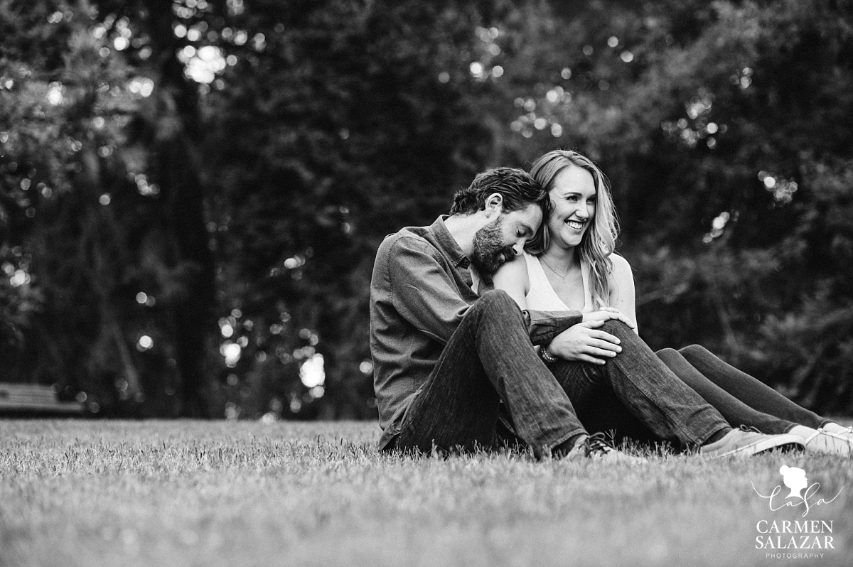 Romantic Davis Engagement Photography Session - Carmen Salazar