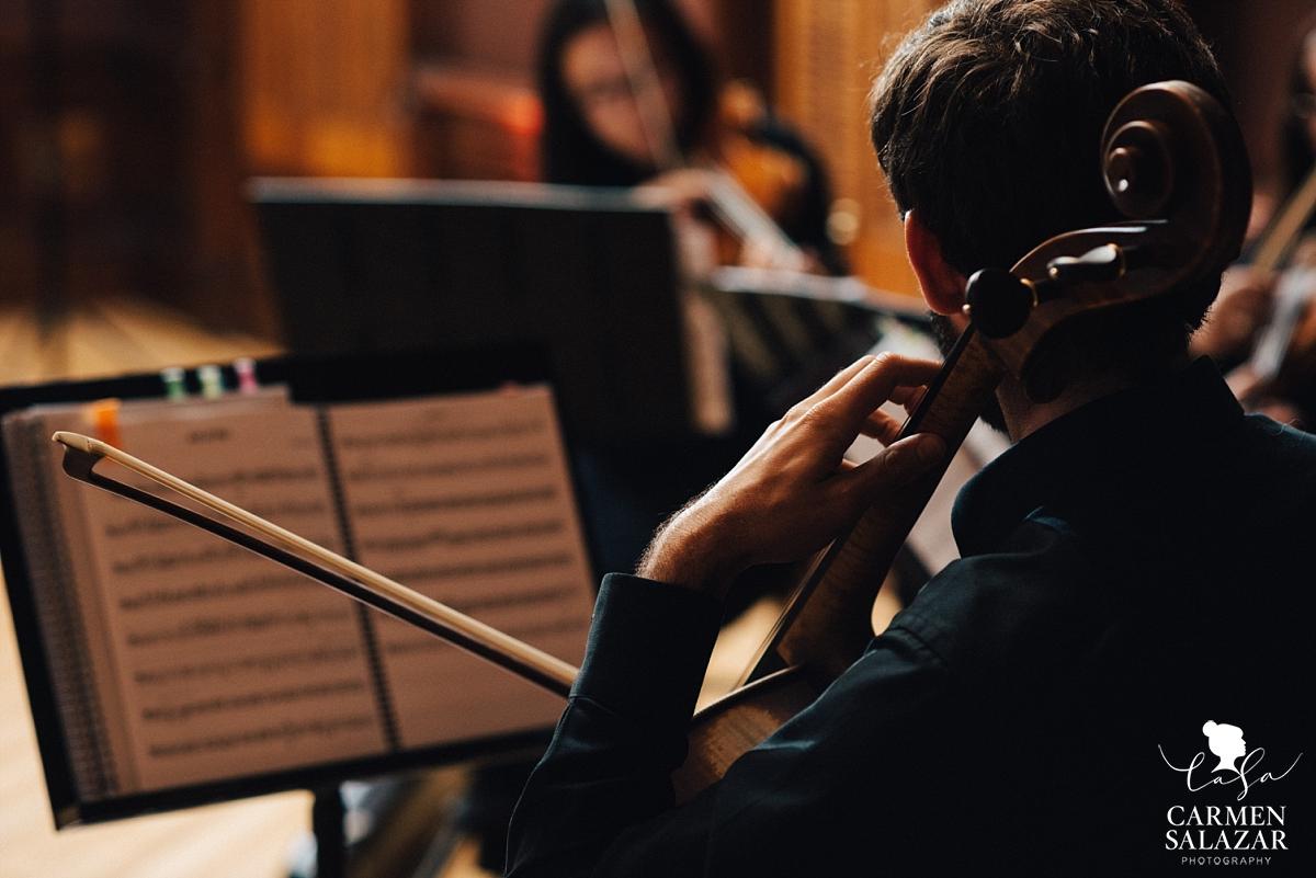 Wedding reception string orchestra - Carmen Salazar