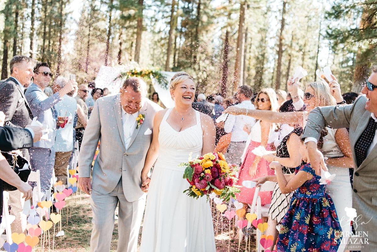 Wedding confetti newlywed welcome - Carmen Salazar