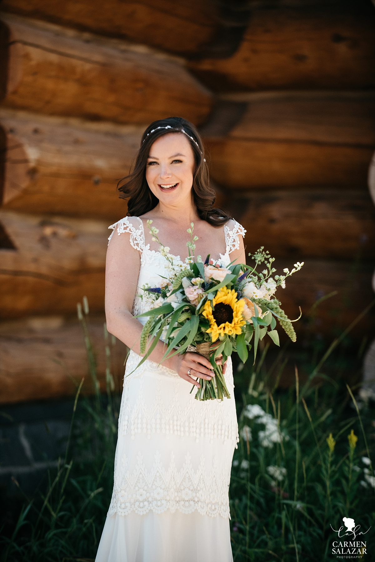 Elegant vintage style Tahoe bride - Carmen Salazar