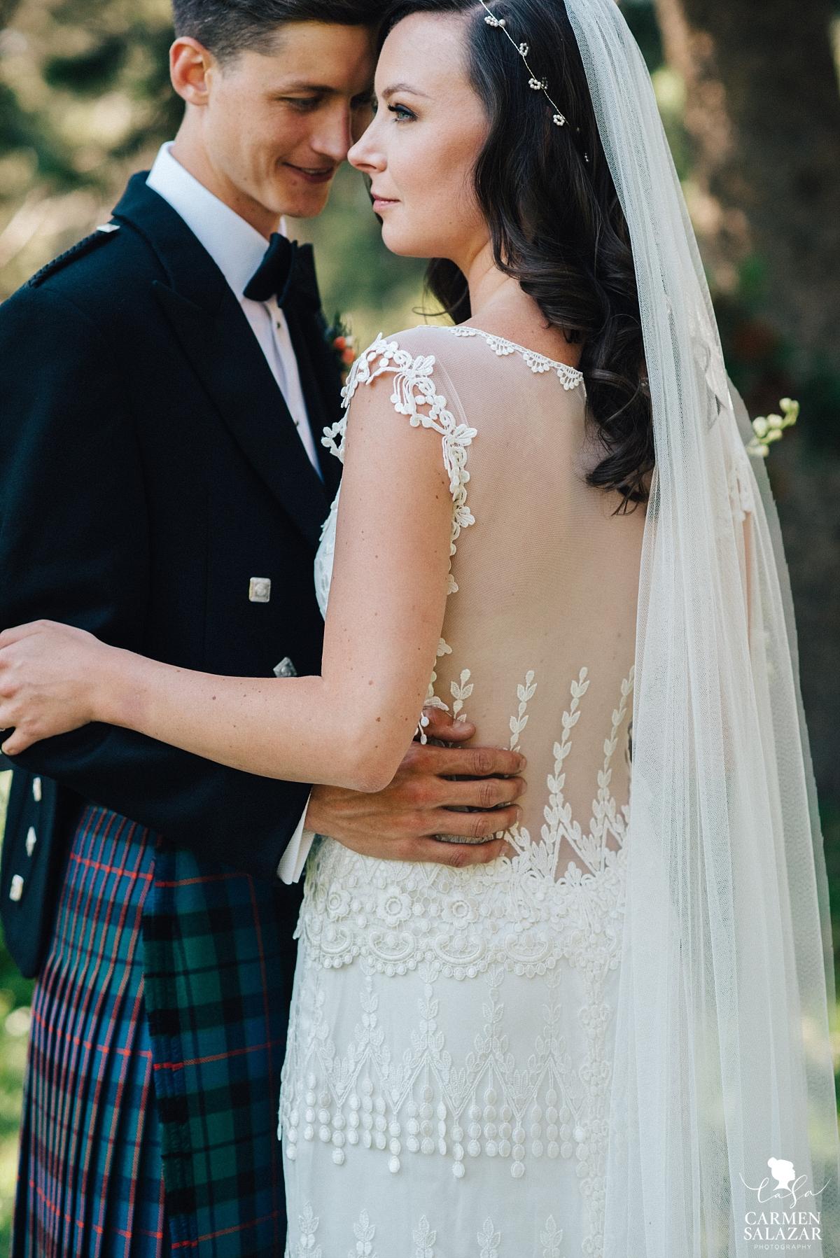 Newlyweds at The Hideout Kirkwood, CA - Carmen Salazar