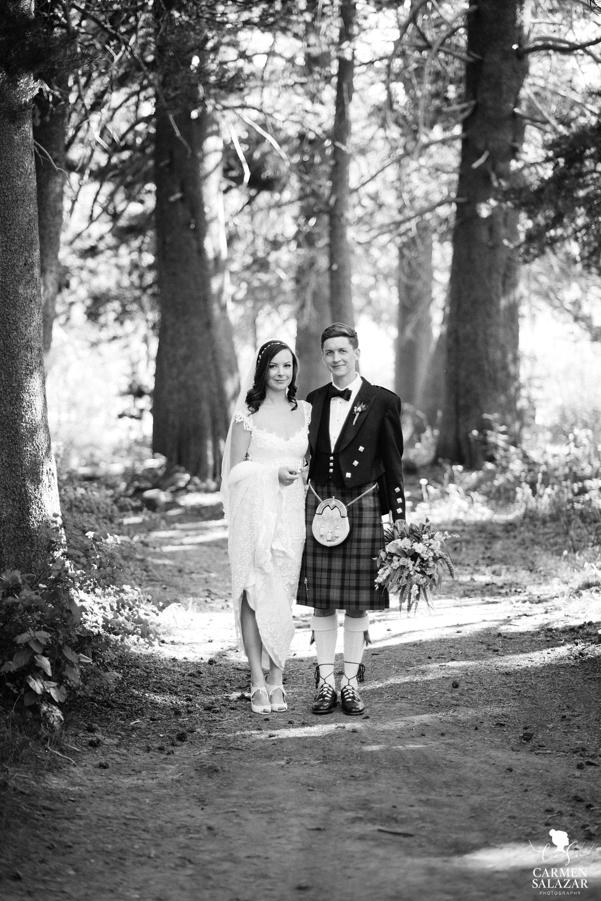 Vintage inspired Tahoe summer wedding - Carmen Salazar