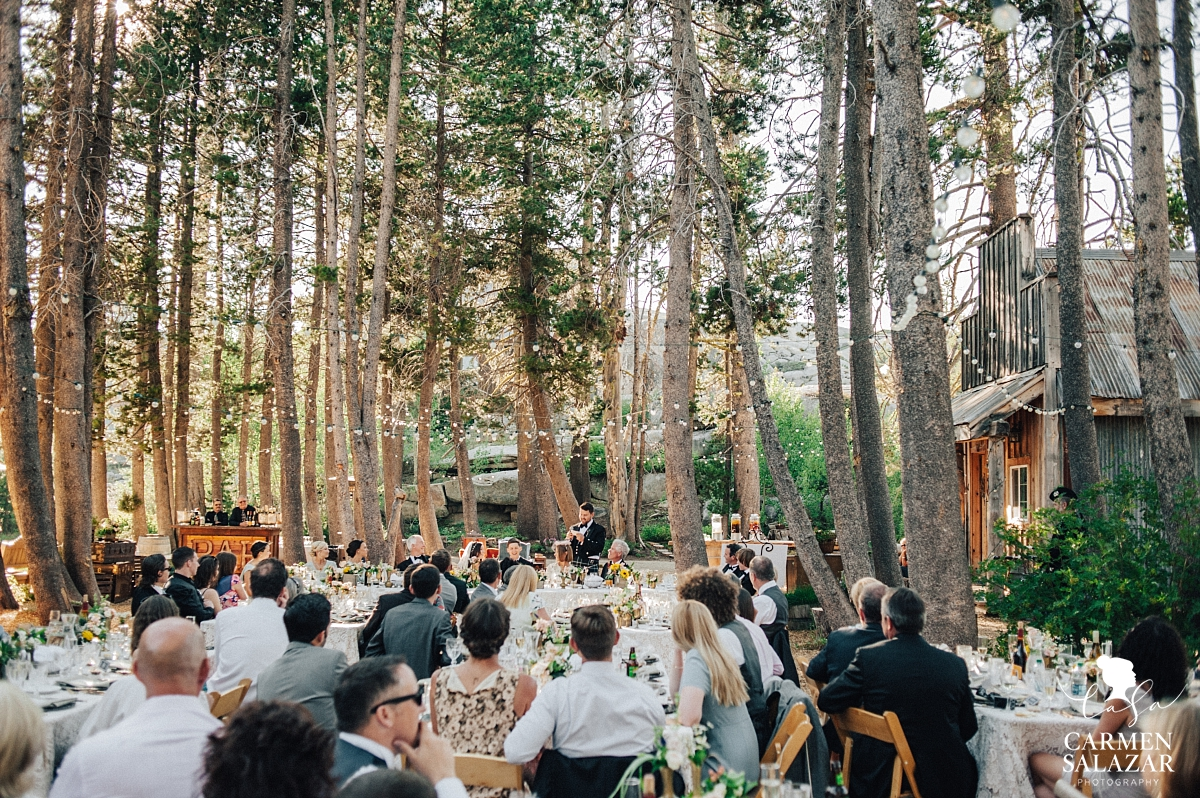 The Hideout Kirkwood summer wedding reception - Carmen Salazar