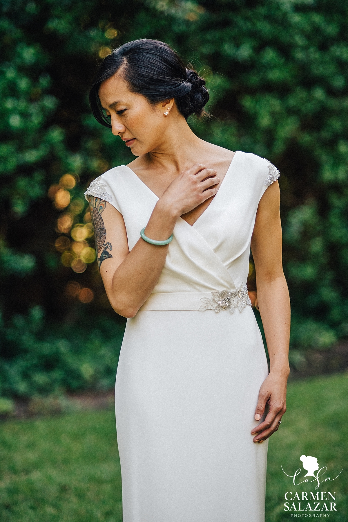 Elegant modern San Francisco bridal style - Carmen Salazar