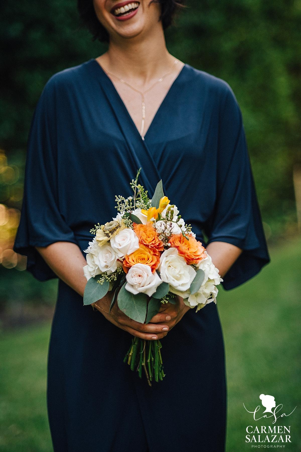 Beautiful modern bridesmaid style - Carmen Salazar