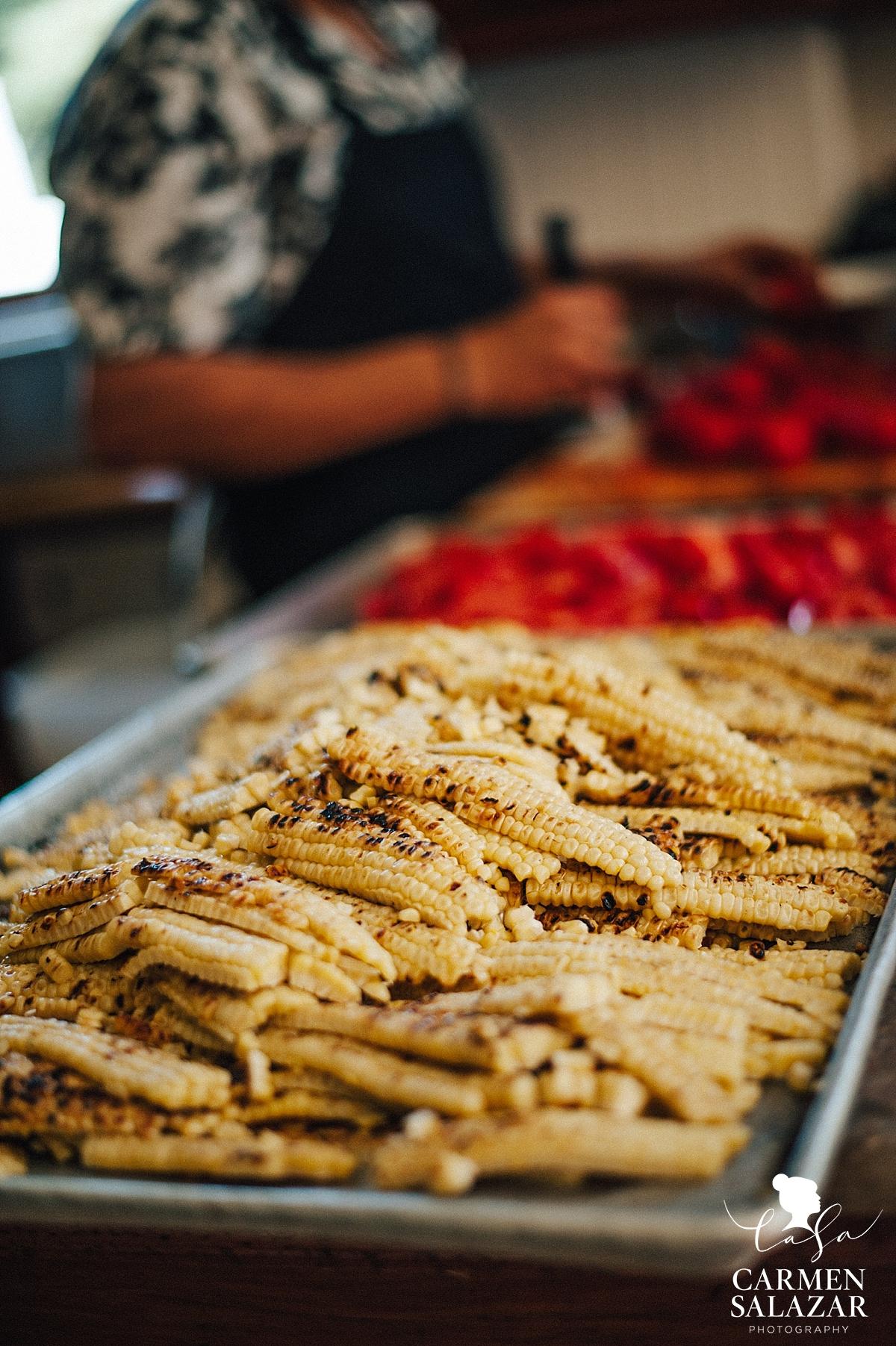 farm to form San Francisco wedding caterer by Nopa - Carmen Salazar