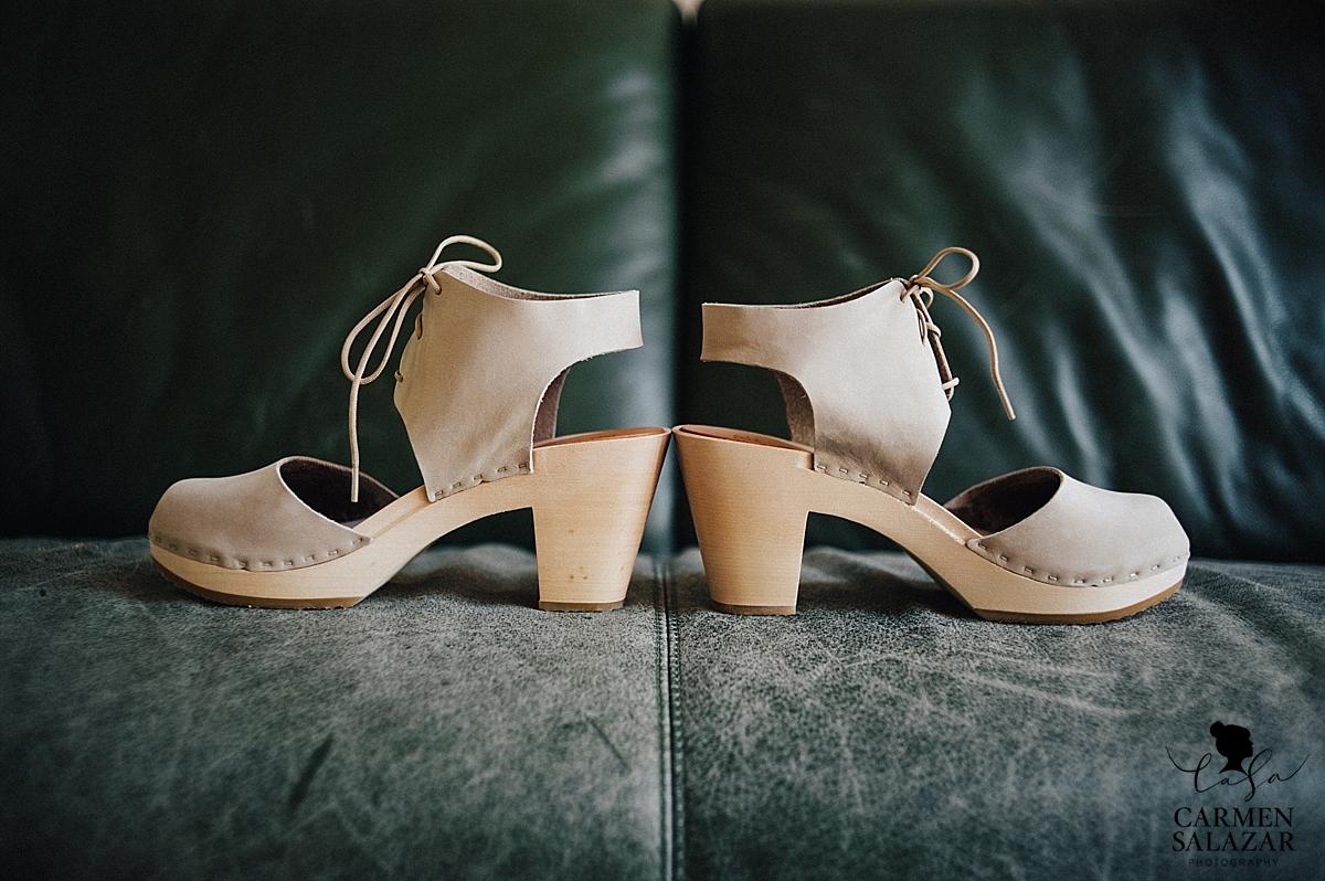 Modern alternative wedding shoes - Carmen Salazar