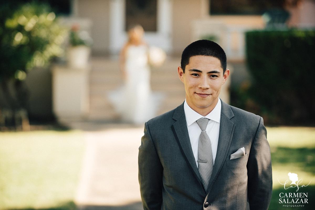 First look at California winery wedding - Carmen Salazar