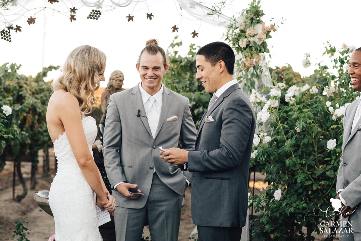 Scribner Bend Vineyards Summer Wedding - Carmen Salazar