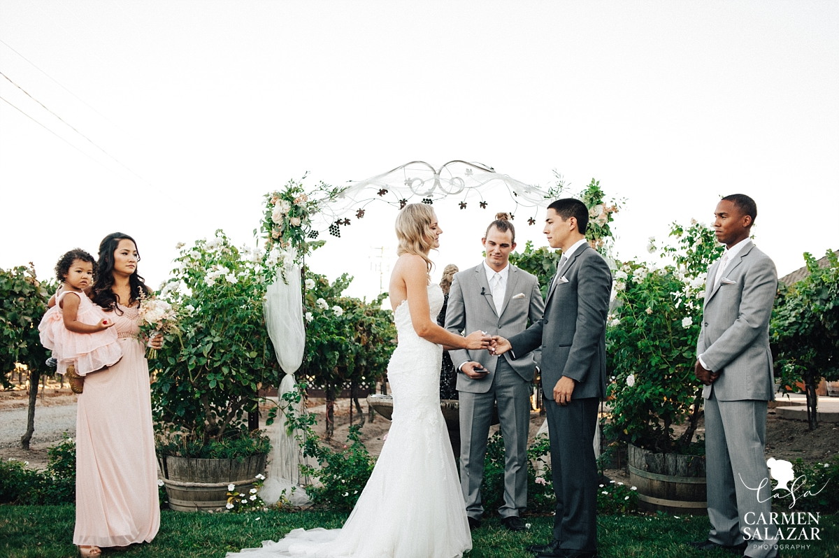 Intimate outdoor California winery wedding - Carmen Salazar