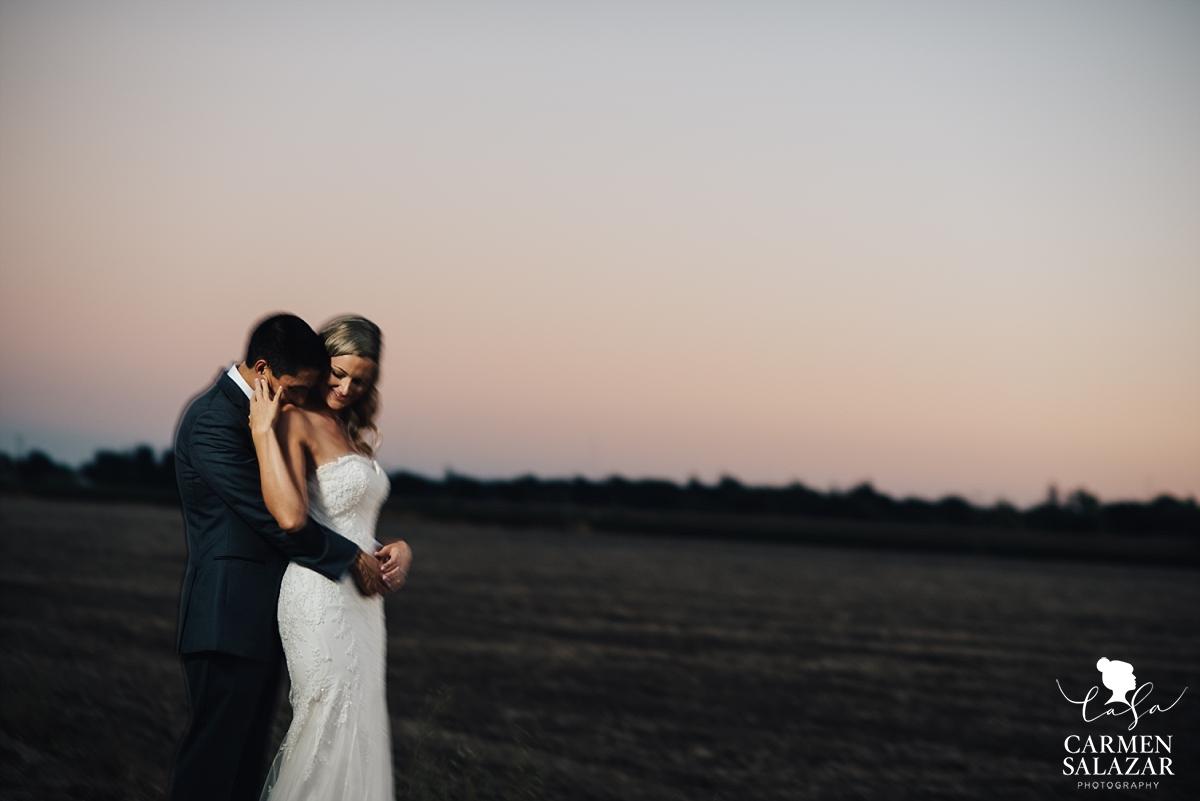 California sunset vineyard wedding photography - Carmen Salazar