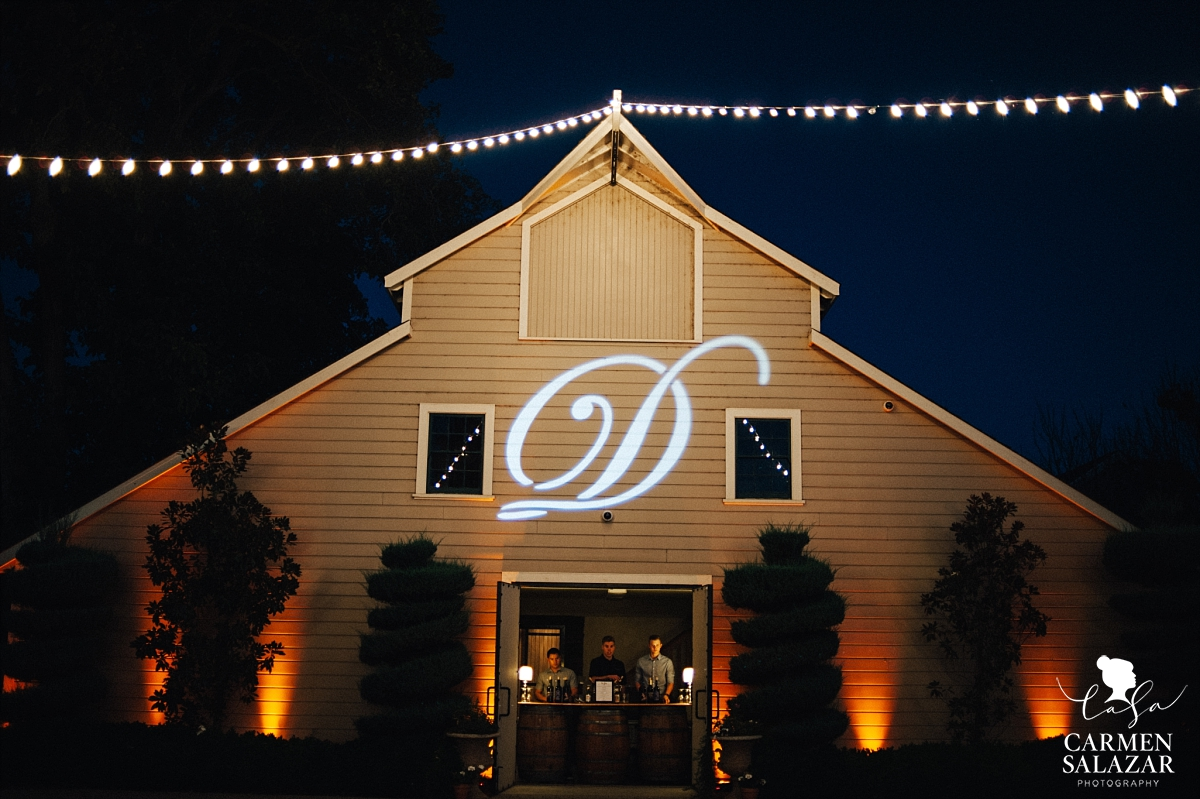 100 year old barn at Scribner Bend vineyards - Carmen Salazar