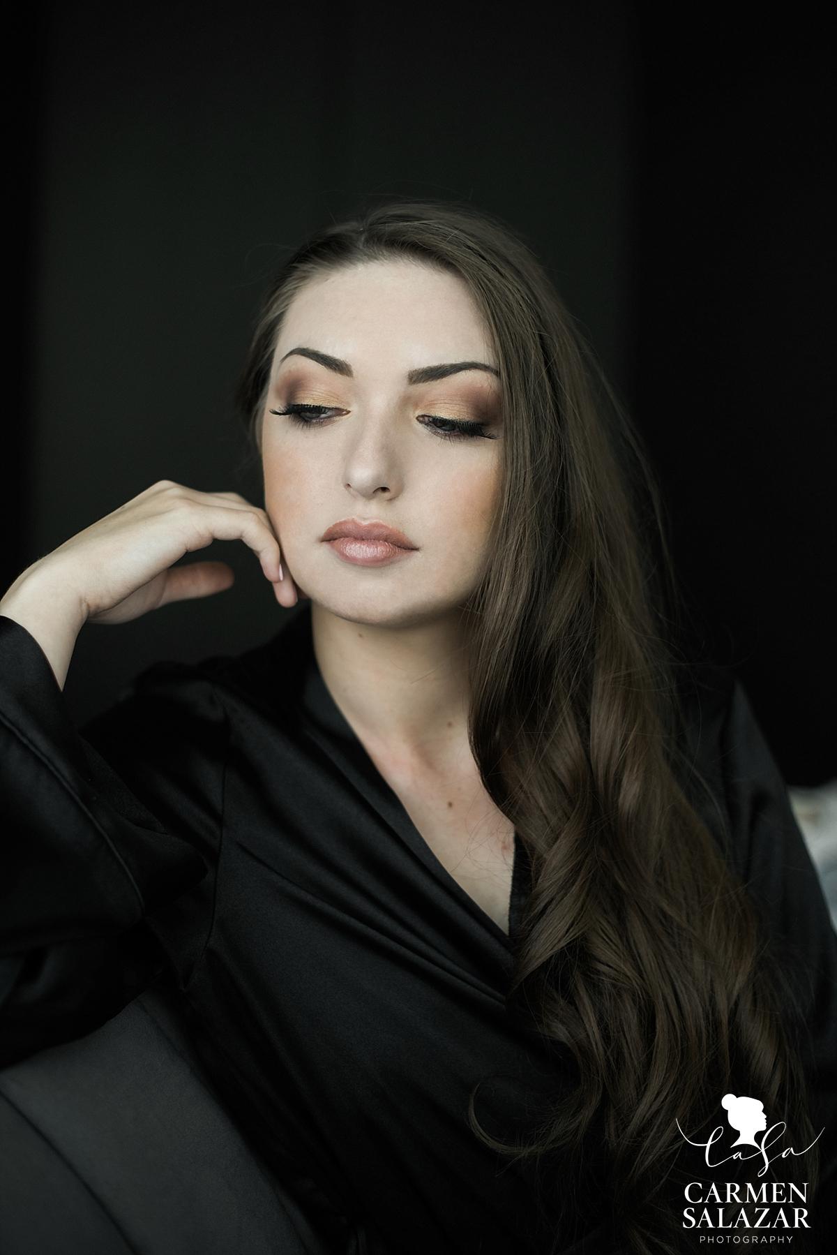 Sexy natural boudoir style - Carmen Salazar