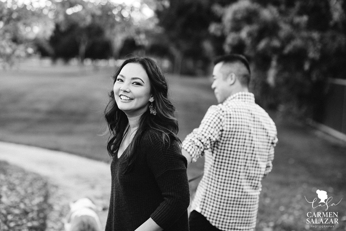 West Sacramento Outdoor Engagement Session - Carmen Salazar