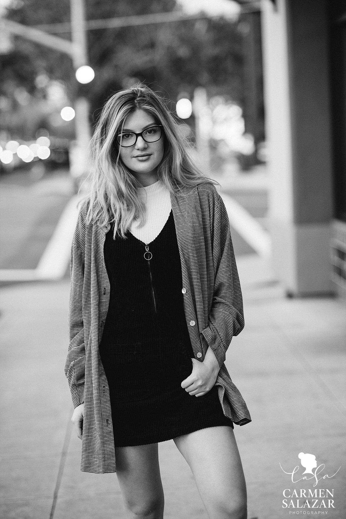 Chic teen modeling photography in Sacramento - Carmen Salazar