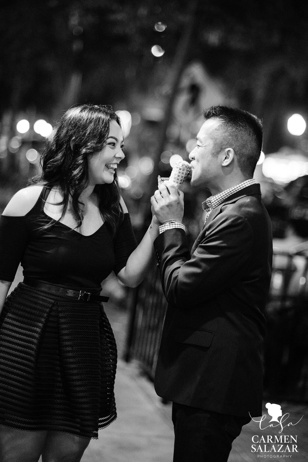 Fun and playful engagement photography ideas - Carmen Salazar