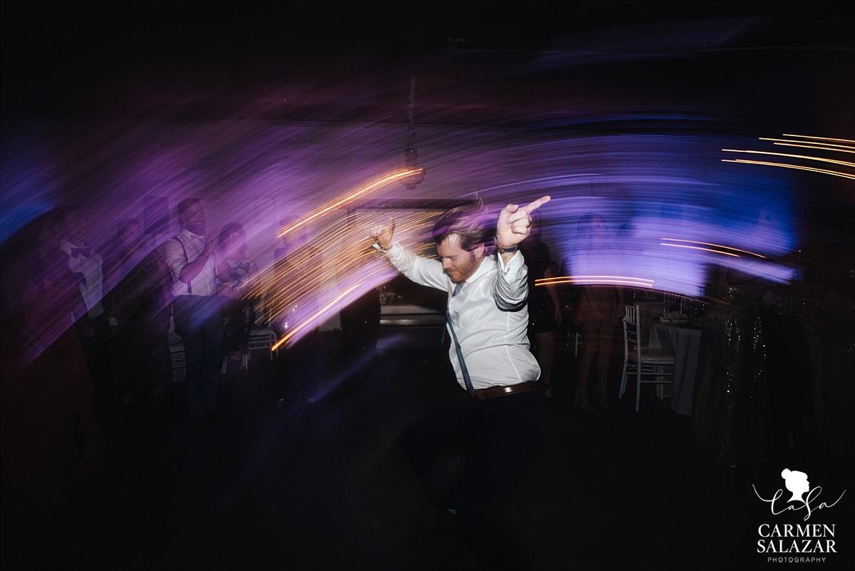 Disco dance moves at Studio 817 - Carmen Salazar