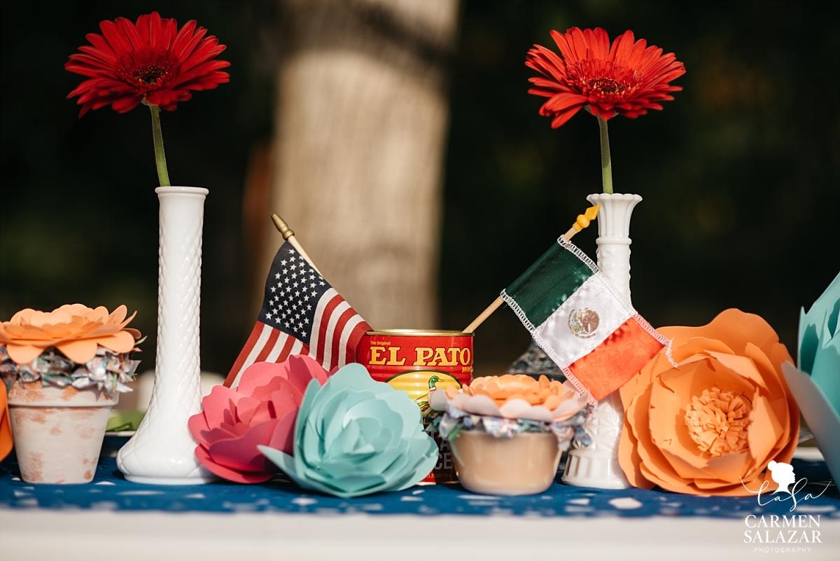 Mexi-Cali DIY wedding decorations - Carmen Salazar