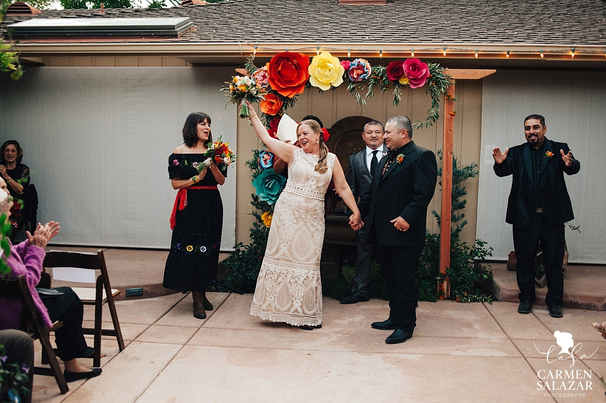 "Newlyweds say ""I Do"" at private estate - Carmen Salazar"