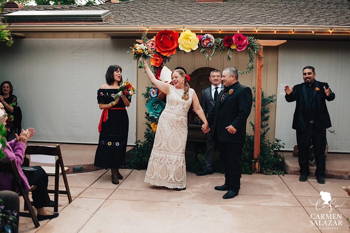 "Newlyweds say ""I Do"" at private estate - Carmen Salazar"