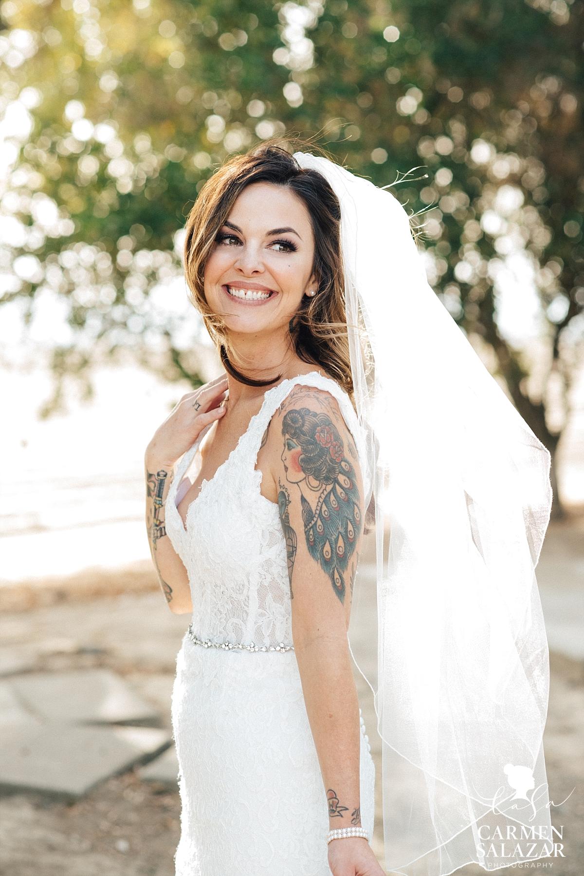 Beautiful LGBT Californian Bride - Carmen Salazar