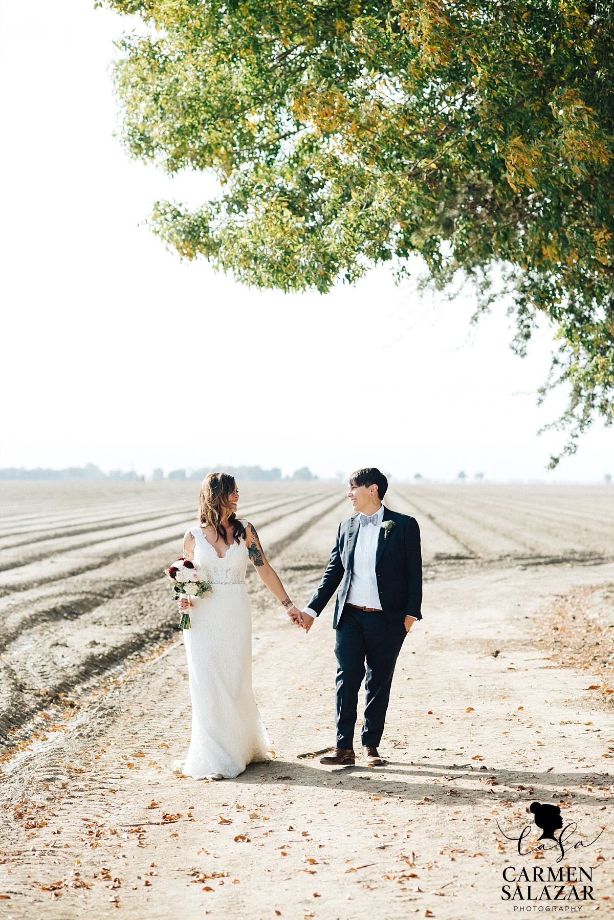 Grimes, CA outdoor wedding photography - Carmen Salazar