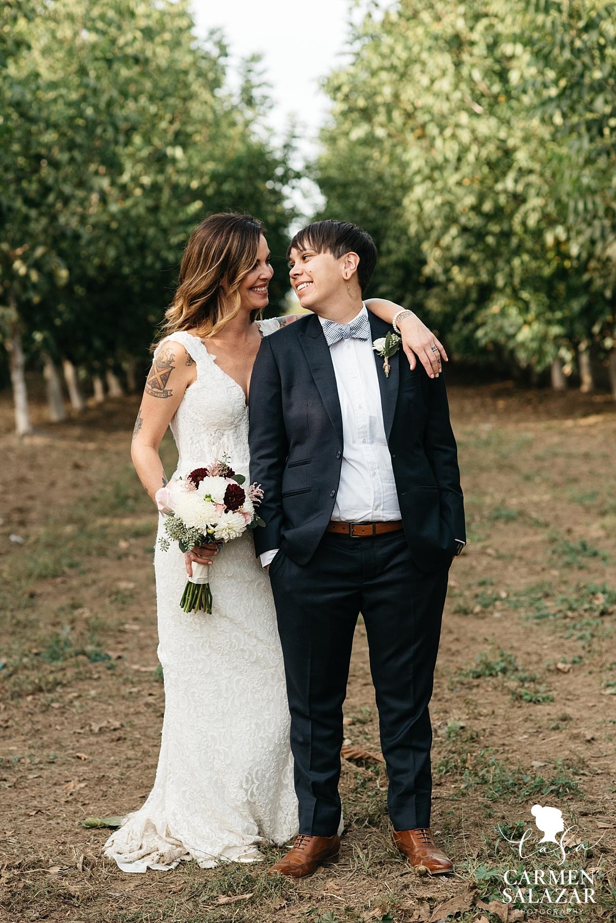 California same sex wedding style inspiration - Carmen Salazar