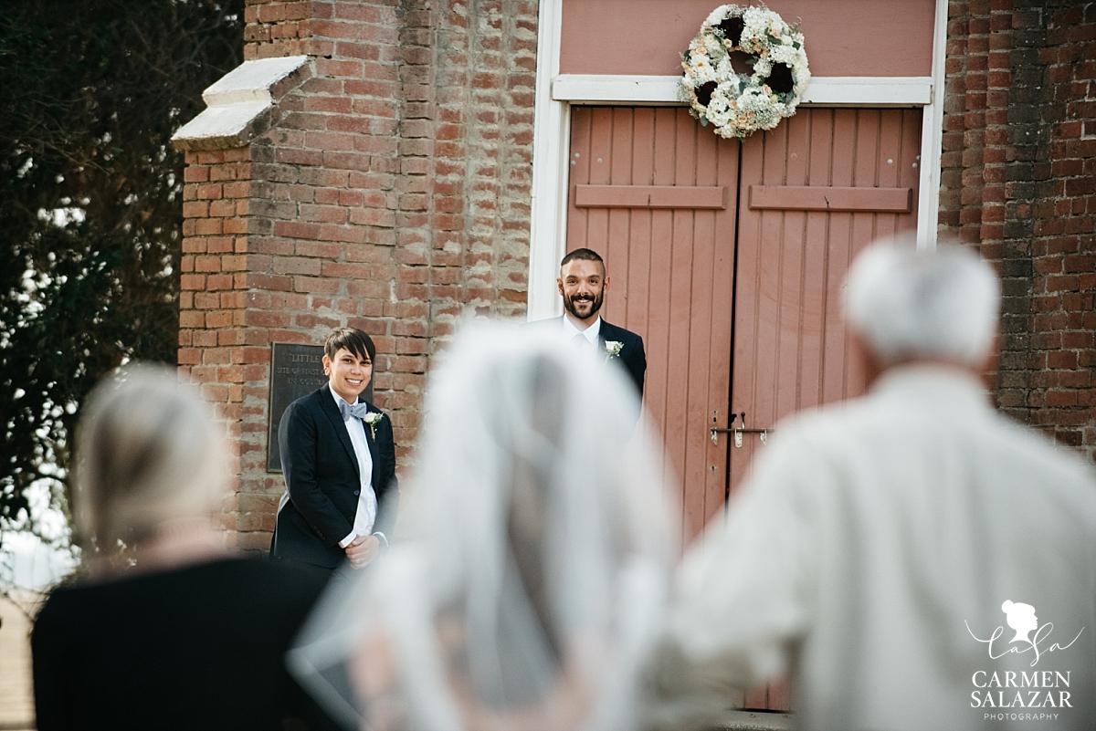 Little Shrine of Grimes Same Sex Wedding - Carmen Salazar