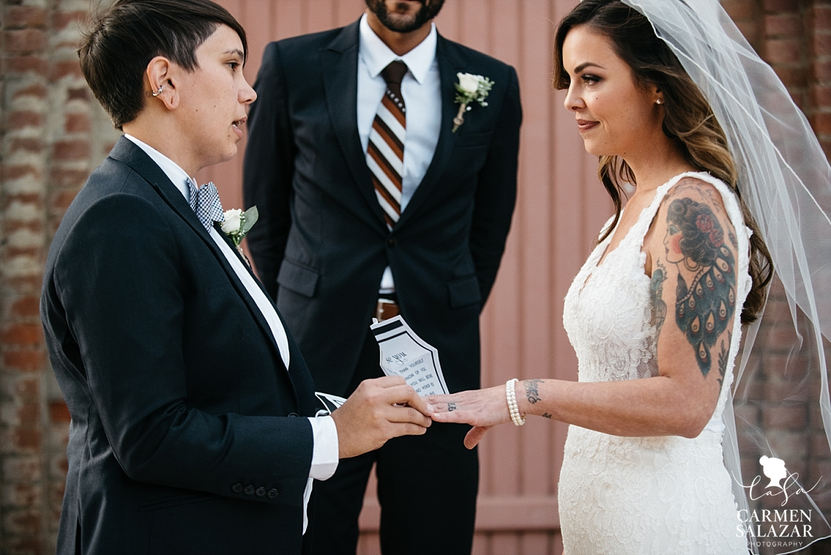 Coloma California LGBTQ Wedding - Carmen Salazar