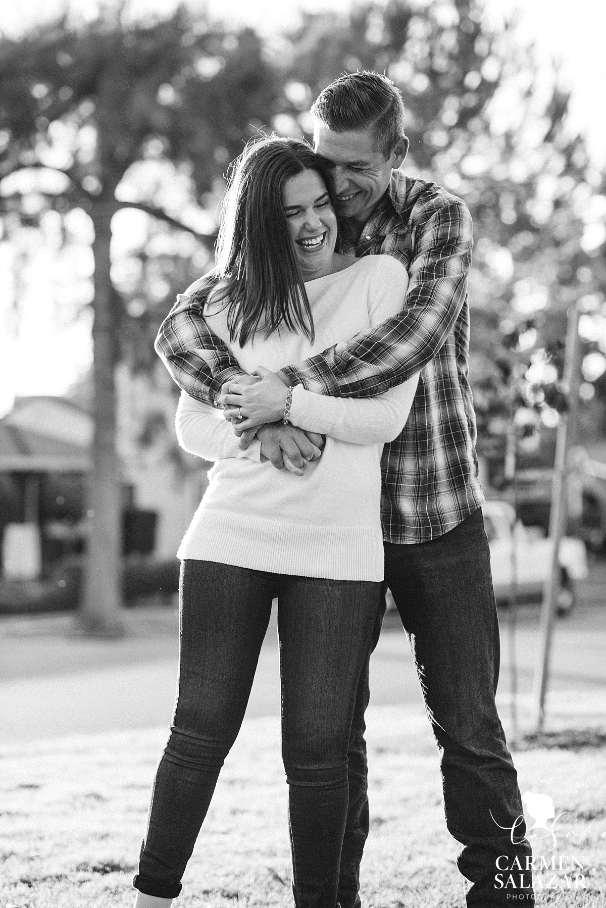 Emotional Sacramento engagement photography - Carmen Salazar