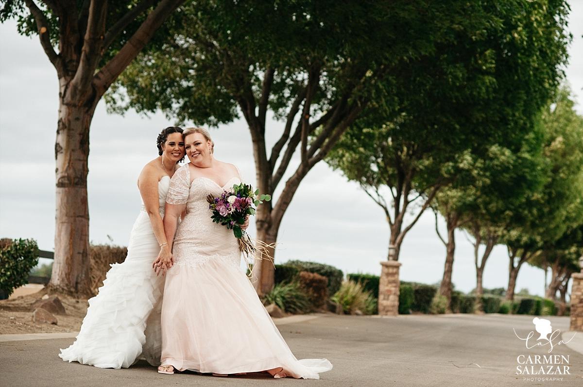 California lesbian bridal photography - Carmen Salazar