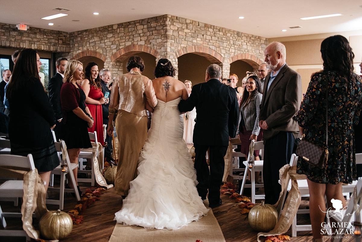 LGBTQ fall wedding at California winery- Carmen Salazar