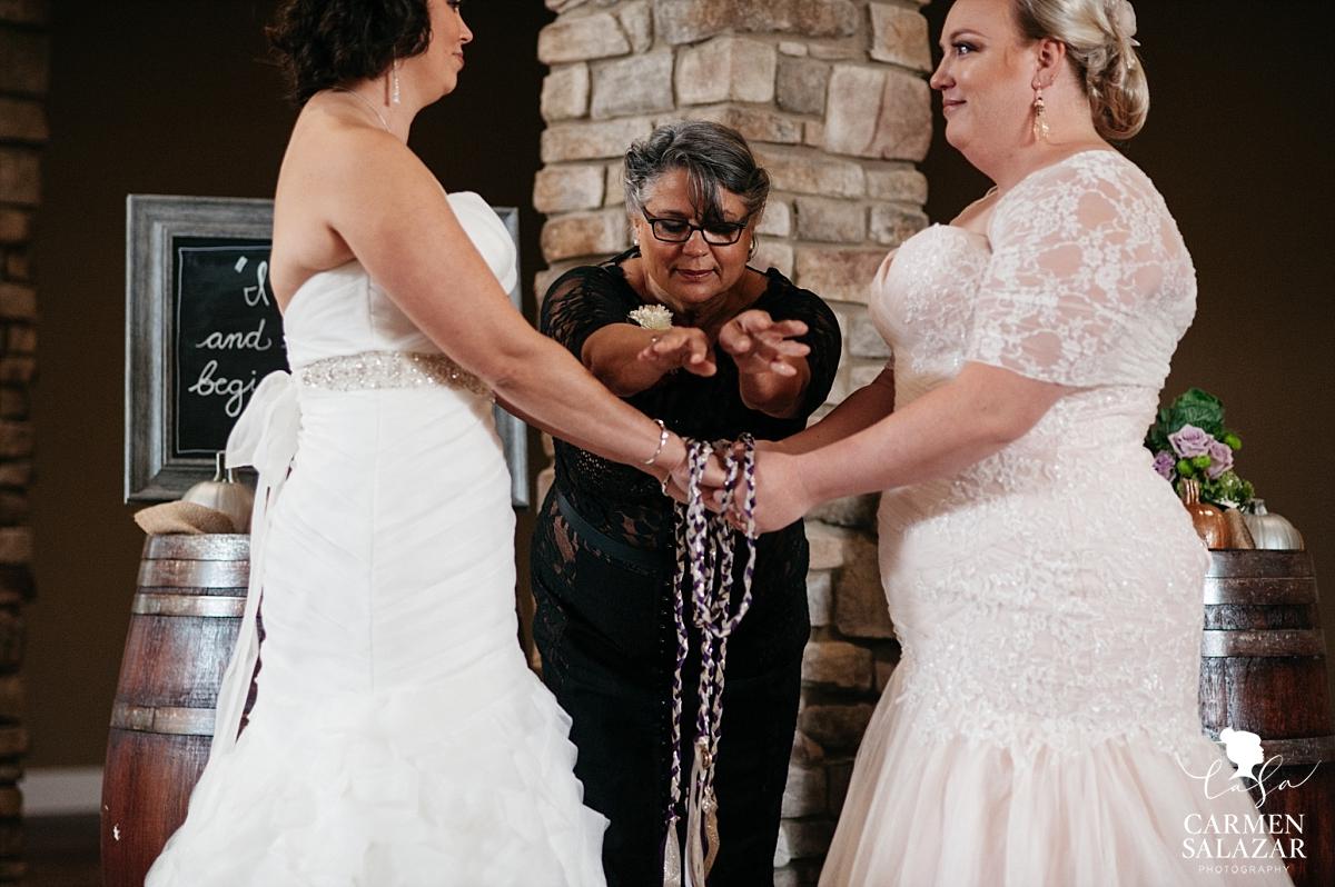 Non-denominational same sex wedding ceremony - Carmen Salazar