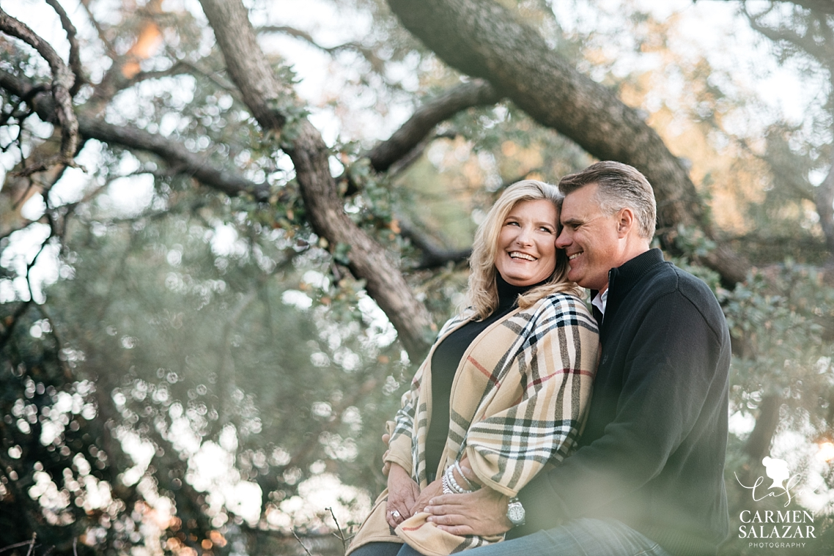 Roseville winter engagement session - Carmen Salazar