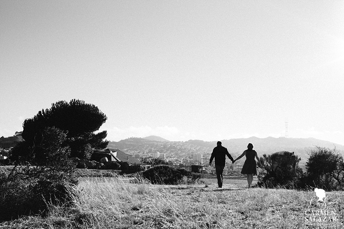 San Francisco outdoor engagement photography - Carmen Salazar