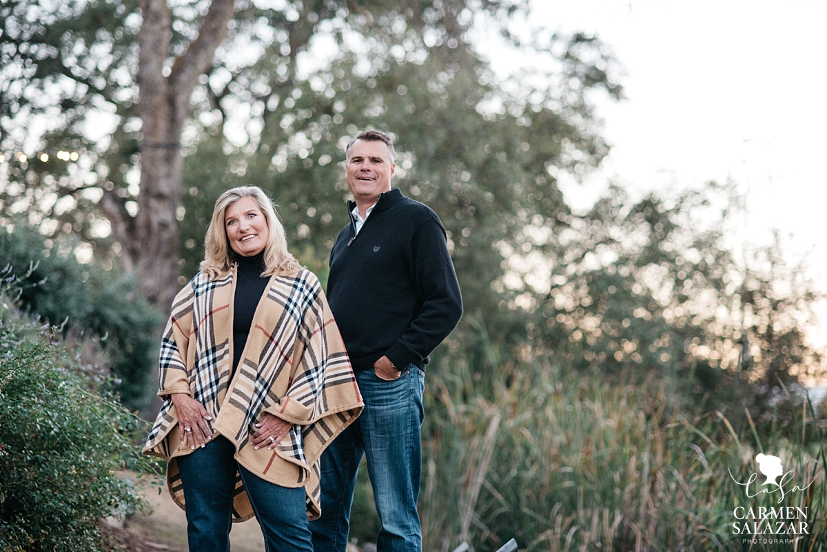 Sunset Sacramento engagement session - Carmen Salazar